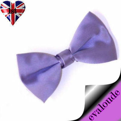 LILAC Pretied Pre Tied Cats Pets Bow Tie Adjustable Wedding Prom Occasion Dickie