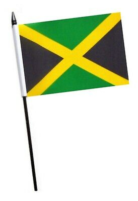 Jamaica Small Hand Waving Flag