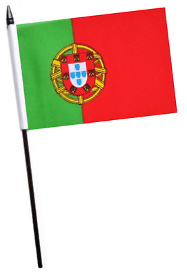 Portugal Small Hand Waving Flag