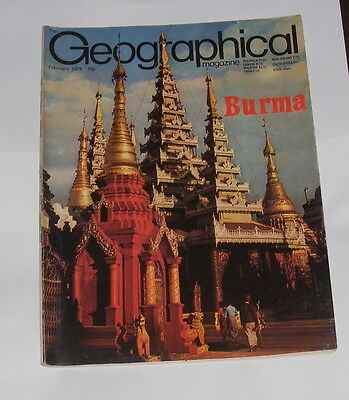 The Geographical Magazine - Burma - February 1978
