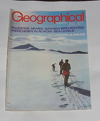 The Geographical Magazine - Ellesmere Summer - December 1972