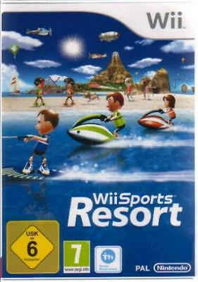 Nintendo Wii +Wii U SPORTS RESORT  12 Sportarten NEUE VERSION DEUTSCH BRANDNEU