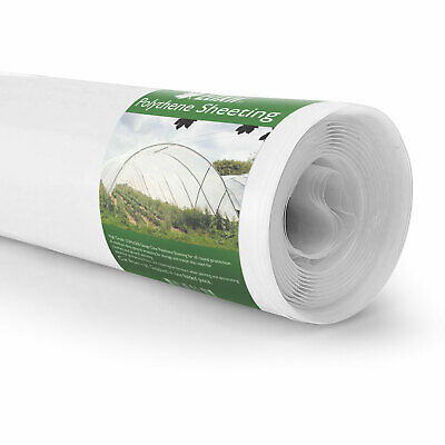Clear 500g Polythene Sheeting | 2m x 5m | UV Treated Plastic Garden Cover