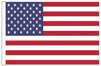 United States of America USA Sleeved Courtesy Flag ideal for Boats 45cm x 30cm