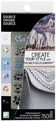 Ek Success Create Your Style with SWAROVSKI Crystal Asst 72pc//Pkg OCEAN