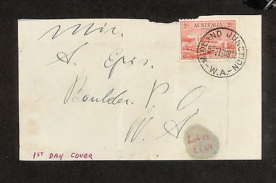 FDC 1932   HARBOUR BRIDGE First Day Cover 2d ADDRESSED (3132) Midland Junction