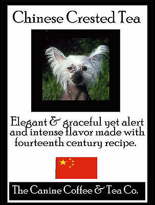 Chinese Crested Tea in collectible tin