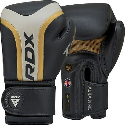 RDX Gel Weight Lifting Body Building Gloves Gym Training Wrap Grip Fitness Red
