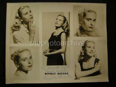 Beverly Brooks Original Signed Autographed Photo 328R