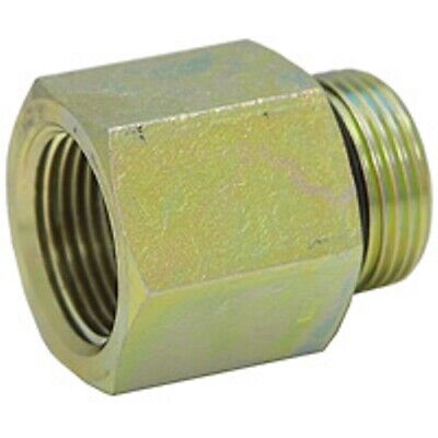 6405-08-04 Hydraulic Fitting 1//2 Male BOSS X 1//4 Female Pipe Carbon Steel