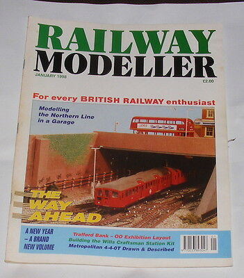 Railway Modeller Volume 49 Number 567 January 1998 - Trafford Bank