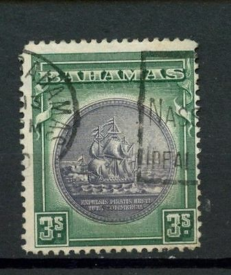 Bahamas 1931 SG#132 3s Slate Purple & Myrtle Green Used #A10139