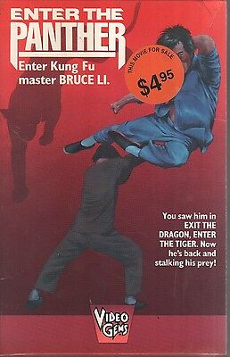 ENTER THE PANTHER Azenith Briones VIDEO GEMS 1976 VHS