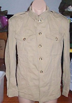 Khaki Cotton Tunic - Boer War Australian Colonial Or's Mounted Pattern