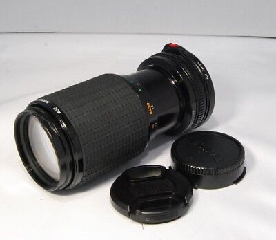 Sigma 70-210mm f4.5 Zoom K-II FD for Canon lens (SN 7473992) manual focus