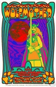 Wolfmother - 2007 - Rose Hill Drive - Poster - Kuhn