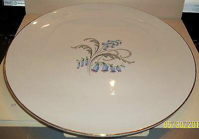 Knowels Fine China Bluebells Plate. Great Shape.