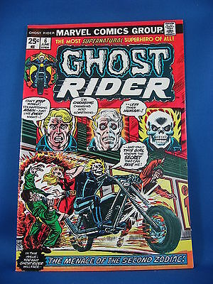 GHOST RIDER 6 VF Sharp 1974 The Zodiac