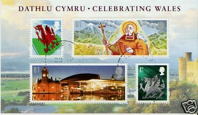 Great Britain 2009 Celebrating Wales Fine Used Miniature Sheet