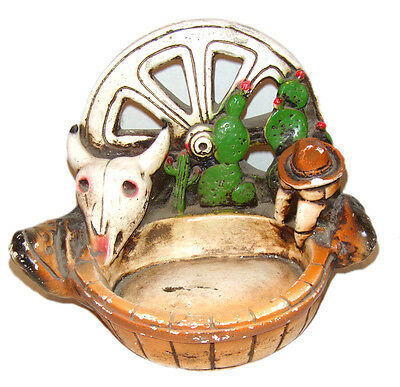 Mexican Folk Art Vintage Ceramic Hand Crafted Collectible Over 25 Yrs. Old