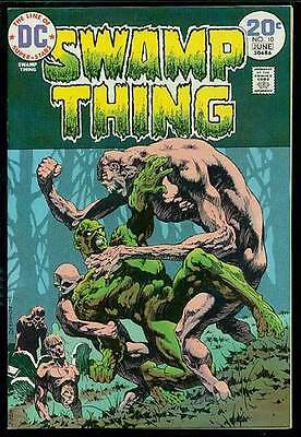 SWAMP THING #10 - Wrightson - High Grade!