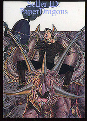 1994. Bernie Wrightson Series 2 Metallic Storm Chase Card # MS1 of 5