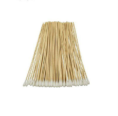 """Cotton Swabs Swab Applicator Q-tip 100 Pieces 6"""" Wood Handle Great for Dog Ears!"""