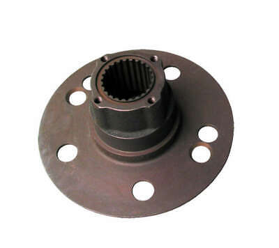 "Allstar Howe Type Rear Drive Flange Plate Steel Hub 5 On 5.00""bc Studs 24 Spline"