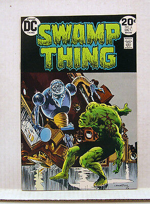 Hi-Grade 1970s Swamp Thing #6  DC Comic Book-Berni Wrightson  VF/NM (L7711)