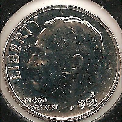 1968-S PROOF Roosevelt Dime #2
