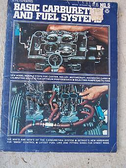 1975 Petersen Basic Carburetion Fuel Systems Manual Carter Holley Rochester  J