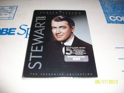 THE JAMES STEWART FRANCHISE COLLECTION BOXED SET BRAND NEW & FACTORY SEALED!!!!!