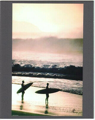 Banzai Pipeline Beach North Shore Giclee Photo By Photographer On 8X10 Inch Mat