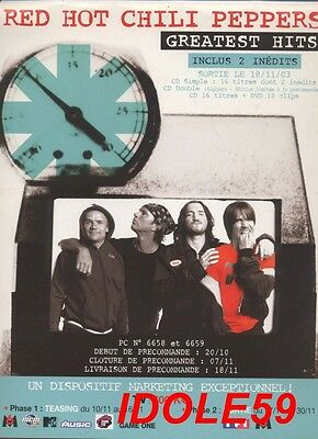 Red Hot Chili Peppers, plan media