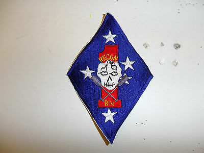 b0800 USMC 1st Recon Battalion Korean era medium size R7D