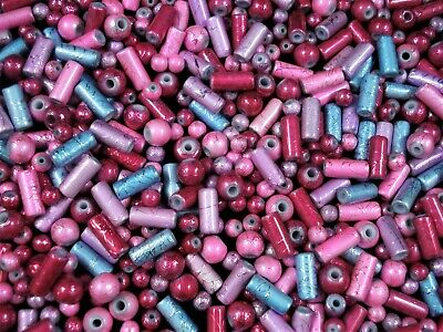 Crystal Glass 4mm Bicone Beads 250pc Mix Colours Bi Cone Jewellery FREE POSTAGE
