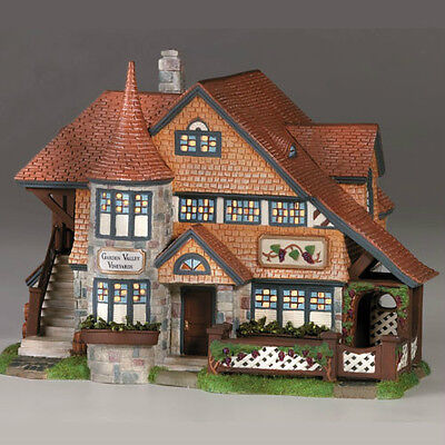 Dept 56 Seasons Bay GARDEN VALLEY VINEYARDS LE MINT!