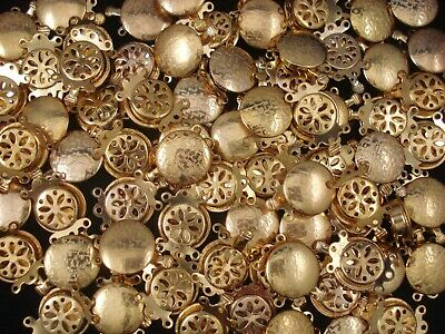 Clasp Large Round Gold 10pcs Findings Jewellery Necklace Bracelet  FREE POSTAGE