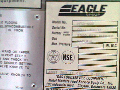 Eagle Group  Steam Table 3 Well NATURAL GAS  NEW