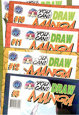 You Can!  Draw Manga - Master Edition   Vol 1-12  Collect Them All --  IMPORTED