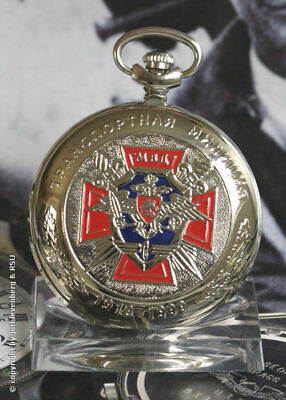 MOLNIJA 3602 Taschenuhr MWD TRANSPORT MILIZ Russian mechanical pocket watch