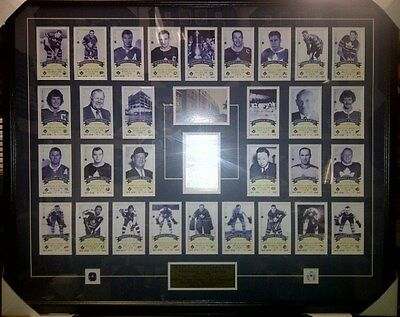 Rare! Toronto Maple Leafs Framed Final Season Tickets Maple Leaf Gardens 1998/99
