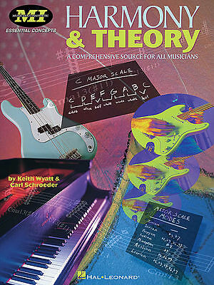 Harmony And Theory (Musicians Institute) - Music Theory Book 695161