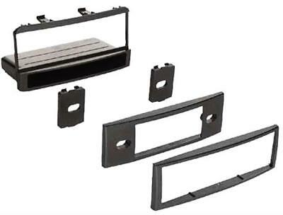 Single Din Install Stereo w Pocket Faceplate FD1325P FORD Radio DASH KIT