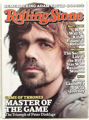 ROLLING STONE MAGAZINE ISSUE 1157 PETER DINKLAGE GAME OF THRONES MAY 24 2012