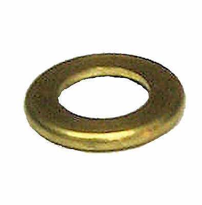 "Lamp parts: Lot of 2...3/4"" solid br check rings with 1/4 IPS hole  TV-123"