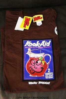 2005 WACKY PACKAGES SHIRT KOOK AID NEW WITH TAGS SZ. LARGE OFFICIAL TOPPS
