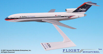 Flight Miniatures Delta Air Lines 1997 Boeing 727-200 1:200 Scale REG#N308WA New