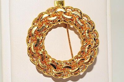 $5,750 Authentic Tiffany & Co. 14K Yellow Gold Pin