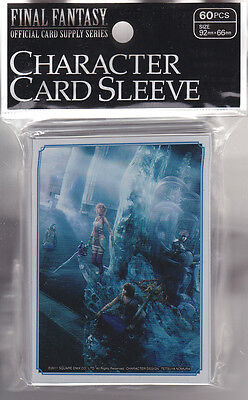 Final Fantasy Card Game Official Sleeve FF X-III-2  B  (60) Japanese